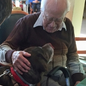 Pet Visits bring lots of joy for the petter and the pettee